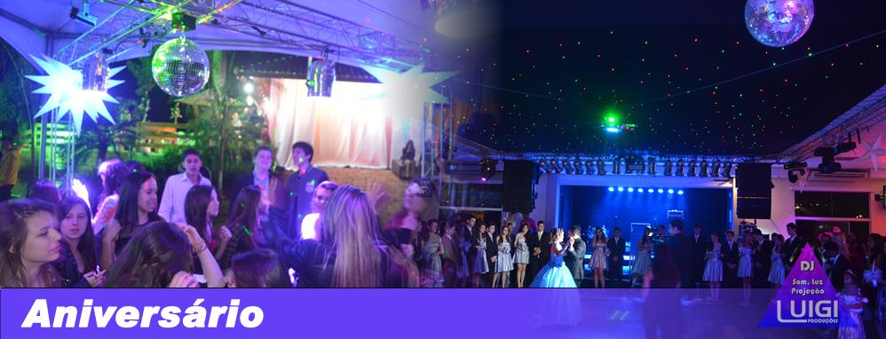DJ para Festas de Aniversários e Eventos em Geral