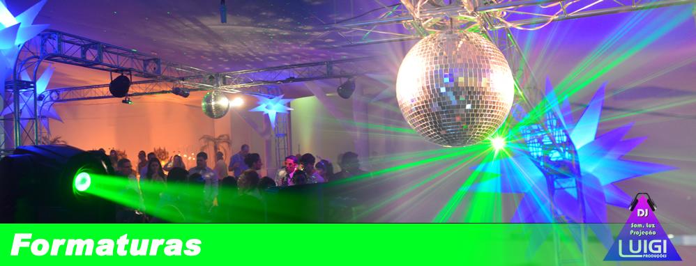 DJ para Festas de Formaturas e Eventos em Geral