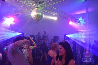 Estrutura da Pista de Dança para Eventos com DJ